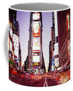 Times Square, Nyc, New York City, New Coffee Mug
