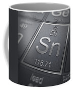 Tin Chemical Element Coffee Mug