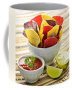 Tortilla Chips And Salsa Coffee Mug by Elena Elisseeva
