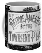 Townsend Plan, 1939 Coffee Mug