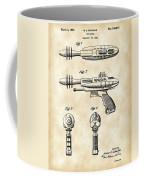 Toy Ray Gun Patent 1952 - Vintage Coffee Mug