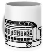 Train, 19th Century Coffee Mug