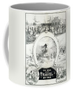 Travel Poster, C1882 Coffee Mug