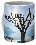 Tree And Bench Coffee Mug