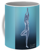 Tree Yoga Pose Coffee Mug