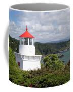 Trinidad Head Light House On The Coast Coffee Mug