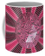 Tulips Kaleidoscope Under Polyhedron Glass Coffee Mug