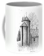 Twin Silos Coffee Mug
