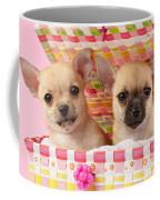 Two Chihuahuas Coffee Mug by Greg Cuddiford
