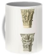 Two Column Capitals Coffee Mug by .