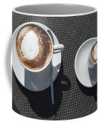 Two Cups Of Coffee Coffee Mug