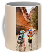 Two Friends Hiking Through The Grand Coffee Mug