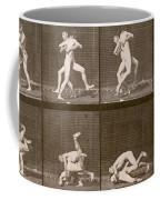 Two Men Wrestling Coffee Mug