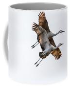 Two Sandhill Cranes Coffee Mug