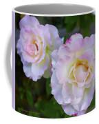 Two White Roses Coffee Mug