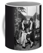 Two Women Talking Coffee Mug