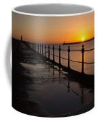 Tynemouth Pier Sunrise Coffee Mug