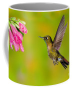 Tyrian Metaltail Hummingbird Coffee Mug
