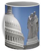 Us Capitol Peace Monument Coffee Mug