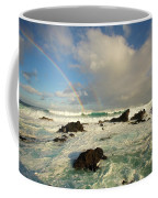 Usa, Hawaii, Rainbow Offshore Coffee Mug