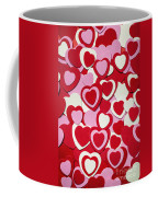 Valentines Day Hearts Coffee Mug by Elena Elisseeva