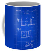 Velcro Patent 1952 - Blue Coffee Mug