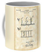 Velcro Patent 1952 - Vintage Coffee Mug