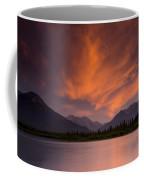 Vermillion Lakes Sunset Coffee Mug