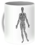 Vesalius: Venous System Coffee Mug