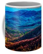 View From Table Rock Mountain Coffee Mug