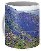 View Of Highlands Road From Skyline Trail In Cape Breton Highlands Np-ns Coffee Mug