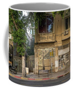 View Of Shops On The Street, Allenby Coffee Mug