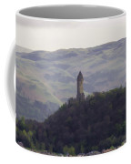 View Of Wallace Monument From The Heights Of The Stirling Castle Coffee Mug