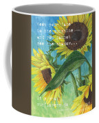 Vince's Sunflowers 1 Coffee Mug