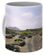 Vineyard On Lanzarote Coffee Mug