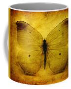 Vintage Grunge Butterfly Coffee Mug