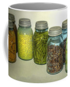 Vintage Kitchen Glass Jar Canning Coffee Mug