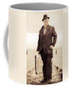 Vintage Traveling Business Man Coffee Mug