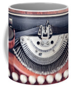Vintage Typewriter Coffee Mug