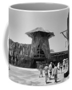 Visitors Heading Towards The Waterworld Attraction Coffee Mug