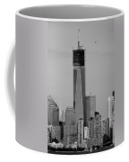 1 W T C Helos And Boats In Black And White Coffee Mug