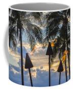 Waikiki Sunset Torches Coffee Mug