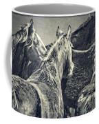 Waiting Horses Coffee Mug