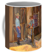 Waiting On The Assay Coffee Mug