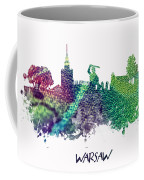 Warsaw City Skyline Coffee Mug