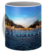 Washington D.c. - Fountains And World Coffee Mug