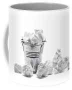 Waste Basket With Crumpled Papers Coffee Mug by Shawn Hempel