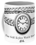 Watch Bracelet, 1891 Coffee Mug