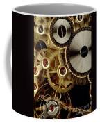 Watch Mechanism. Close-up Coffee Mug