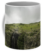 Waterfall Flowing Over The Edge Coffee Mug